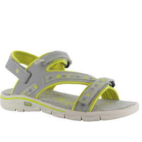 Hi-Tec Soul-Riderz Life Strap Sandals Women Cool Grey/Canary